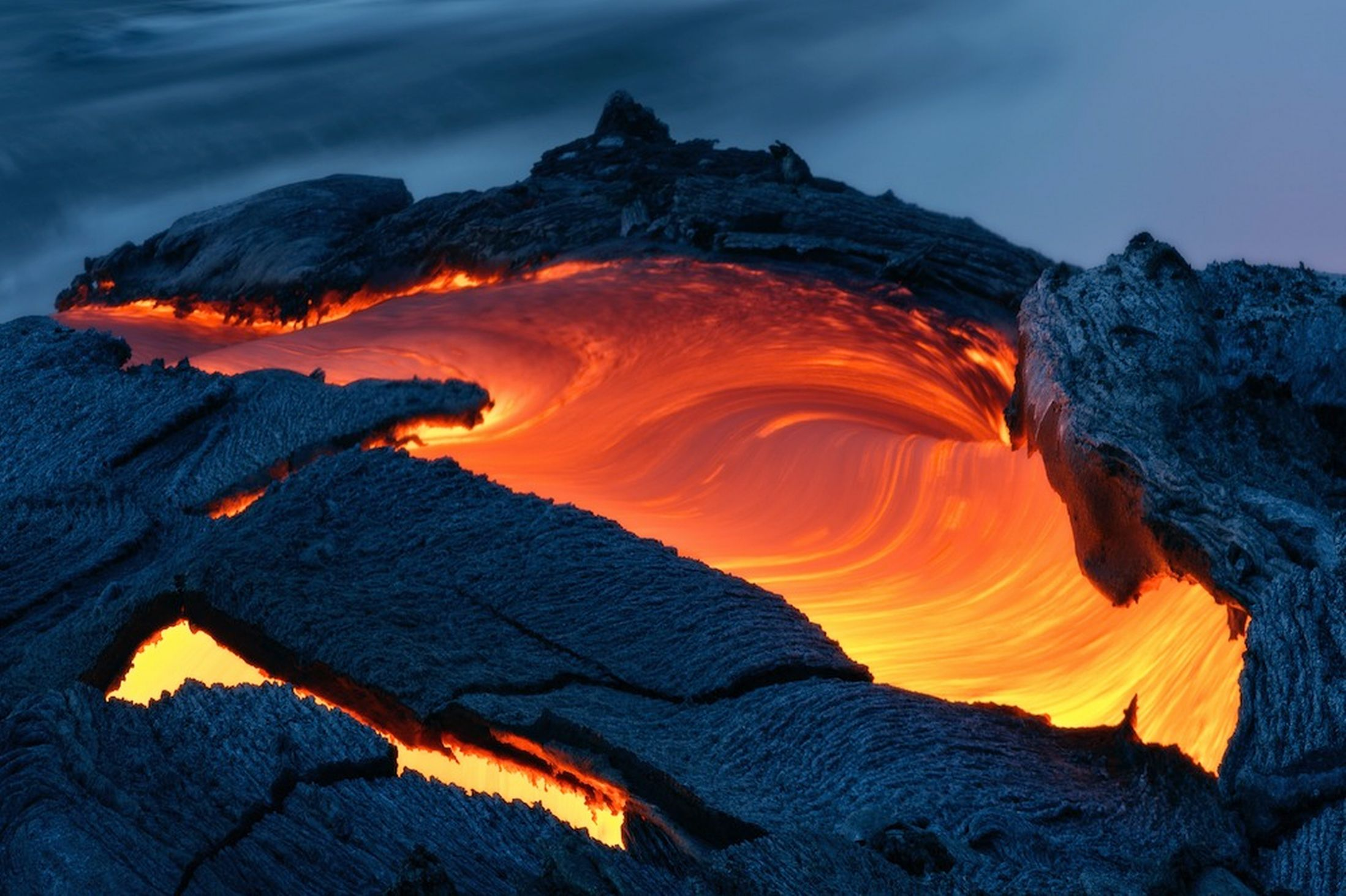 I find the Hawaiian volcano's eruption unspeakably beautiful, a thing of wonder