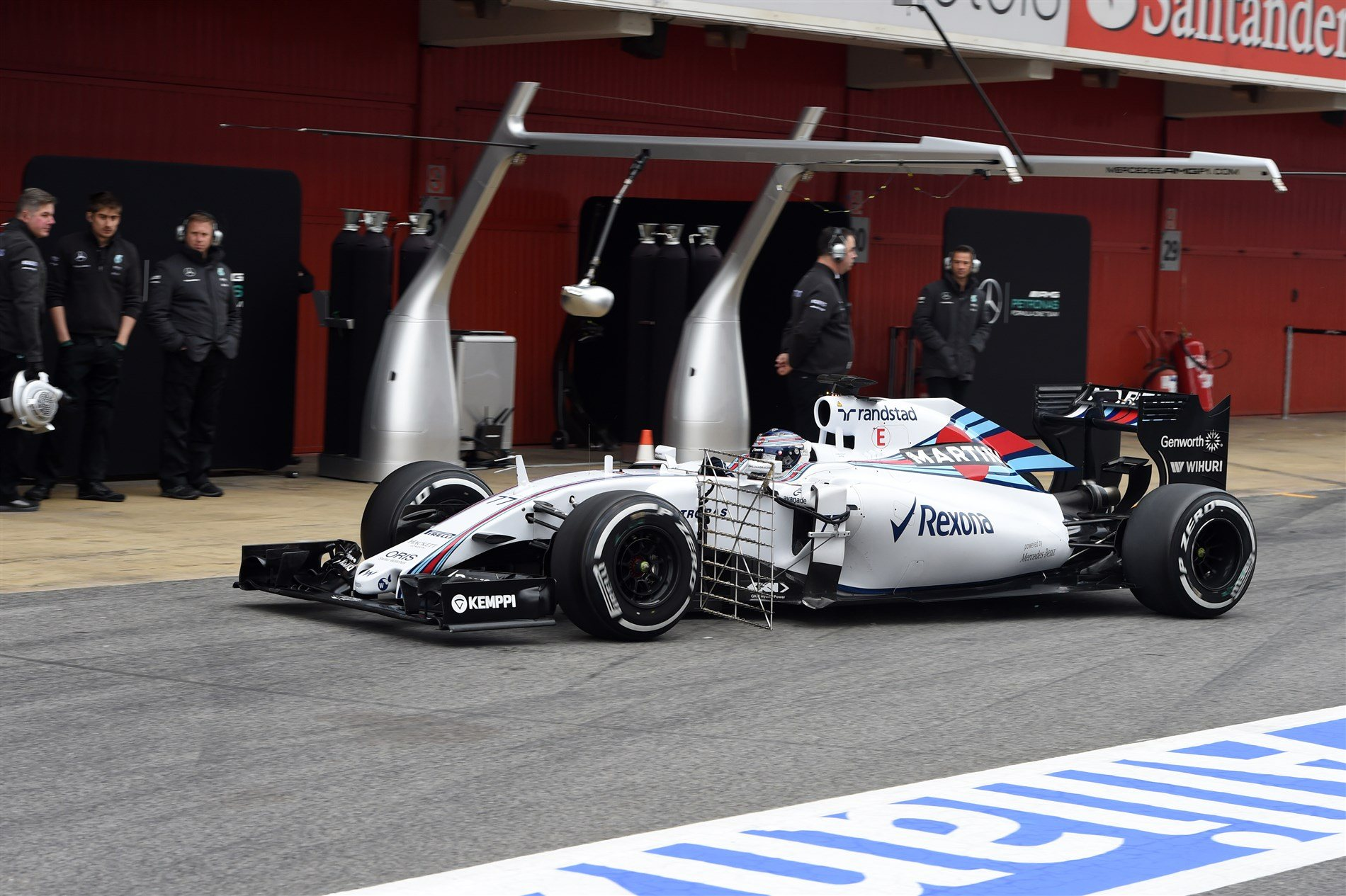 Williams FW37 Mercedes Valteri Bottas