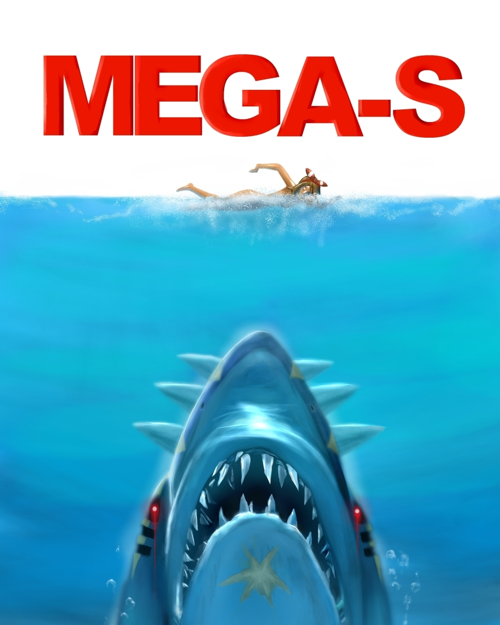 jaws pokemon mega-s
