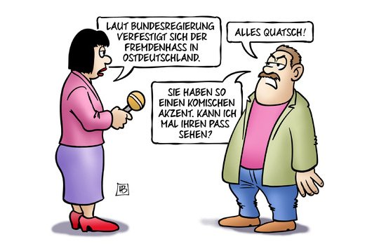 Harm Bengen cartoon Akzent