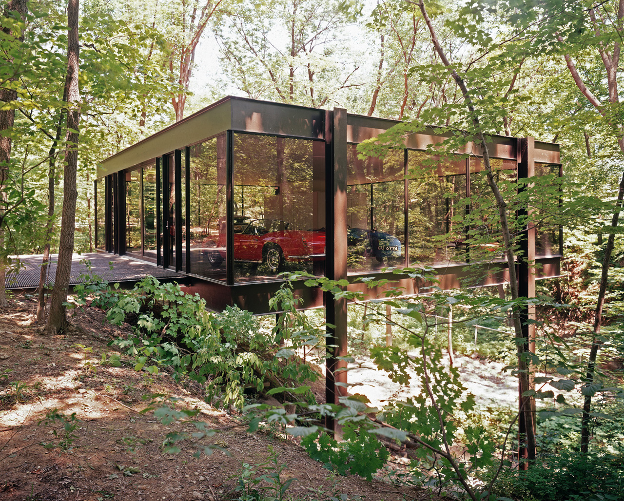 Ferris Bueller Glass House