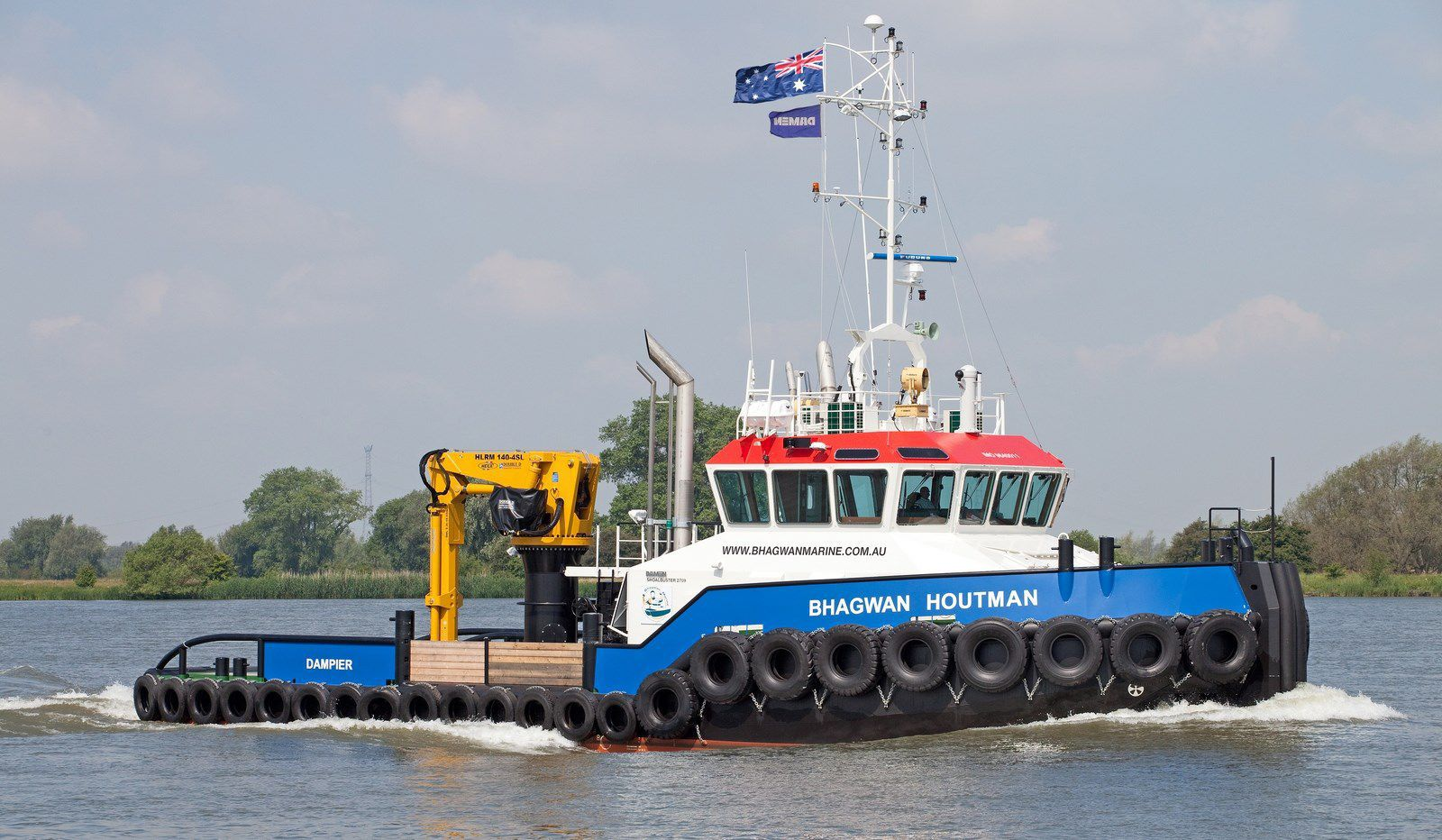 Damen Shoalbusters versatile multi-purpose vessel