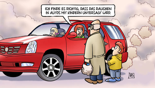 harm bengen cartoon rauchen auto SUV ... #we#us#theIdiots