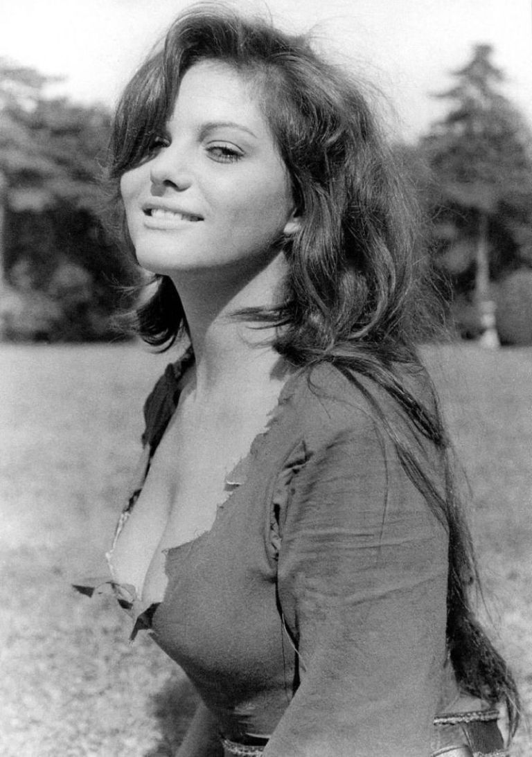 young claudia cardinale actress cleavage