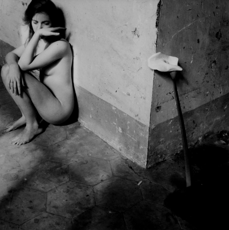 Francesca Woodman nude photography 1977