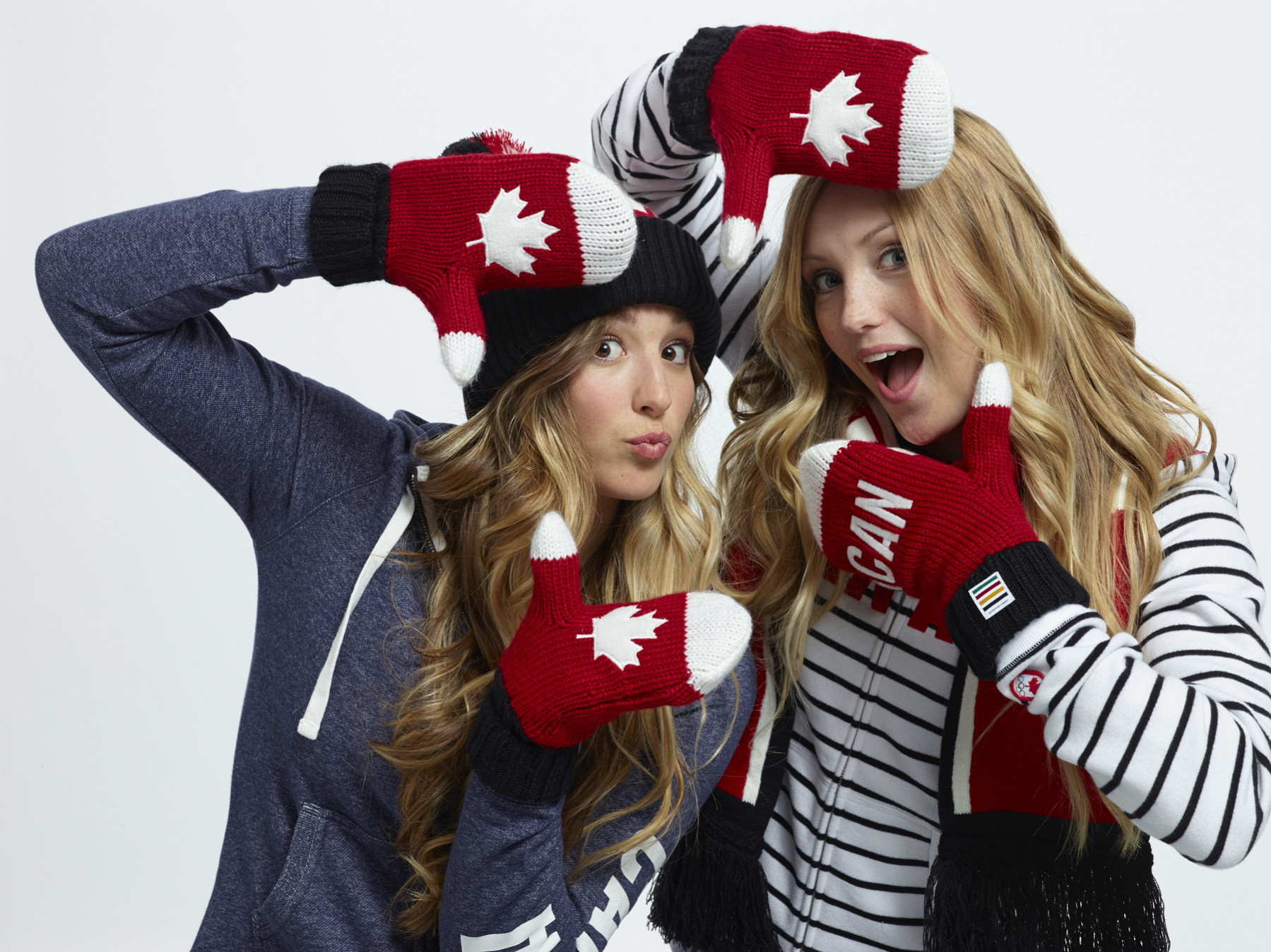 chloe & justine dufour-lapointe Freestyle skiing 2014