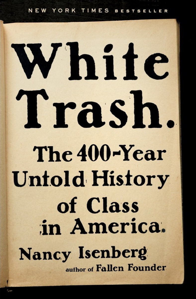 white trash book nancy isenberg 2016