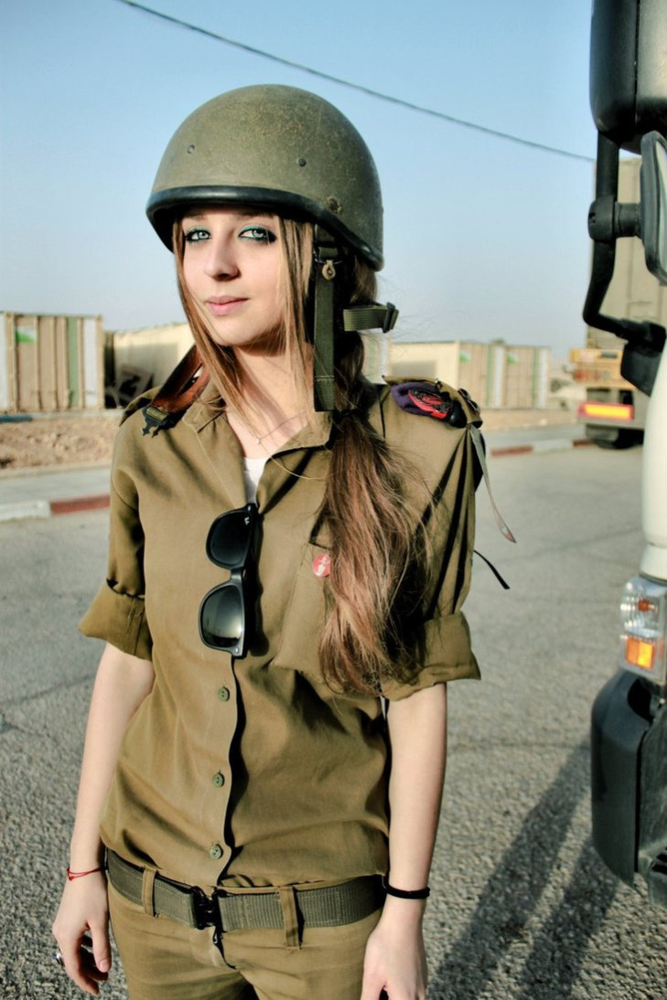 female soldier israel 2012