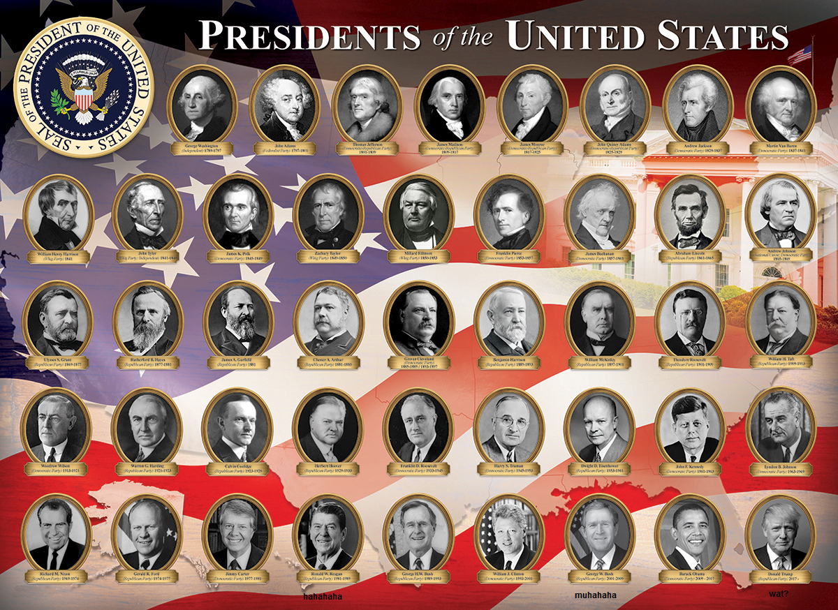 tag dein Scheiß all the presidents of the united states til 2020 edited murica