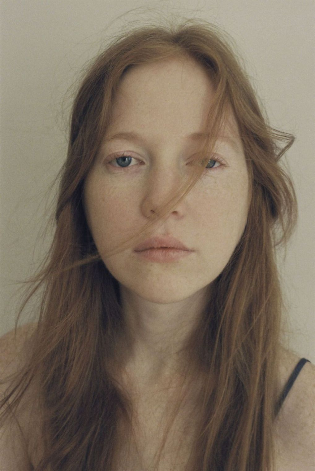 woman face freckles johanna-stickland without