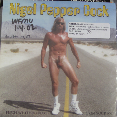 Nigel Pepper cock fresh white Reeboks kickin' your ass 2001 cover Penis hihihihihihi