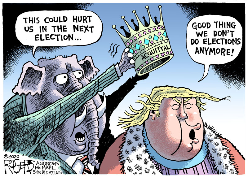 rogers cartoon murica gop fucktard trump #trump for nuthouse magarine
