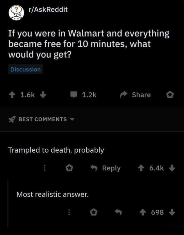ask reddit walmart consumption capitalism