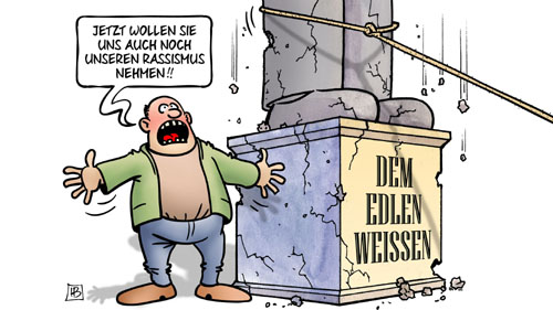 harm bengen cartoon denkmal