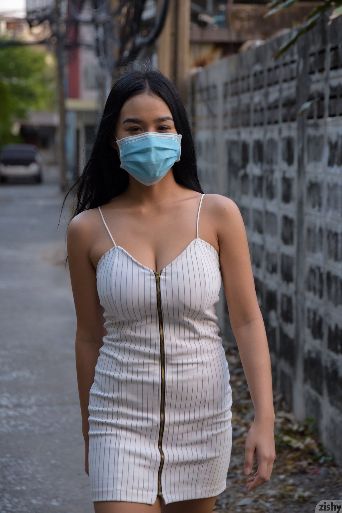 dress mask coronavirus zishy braless tits or gtfo