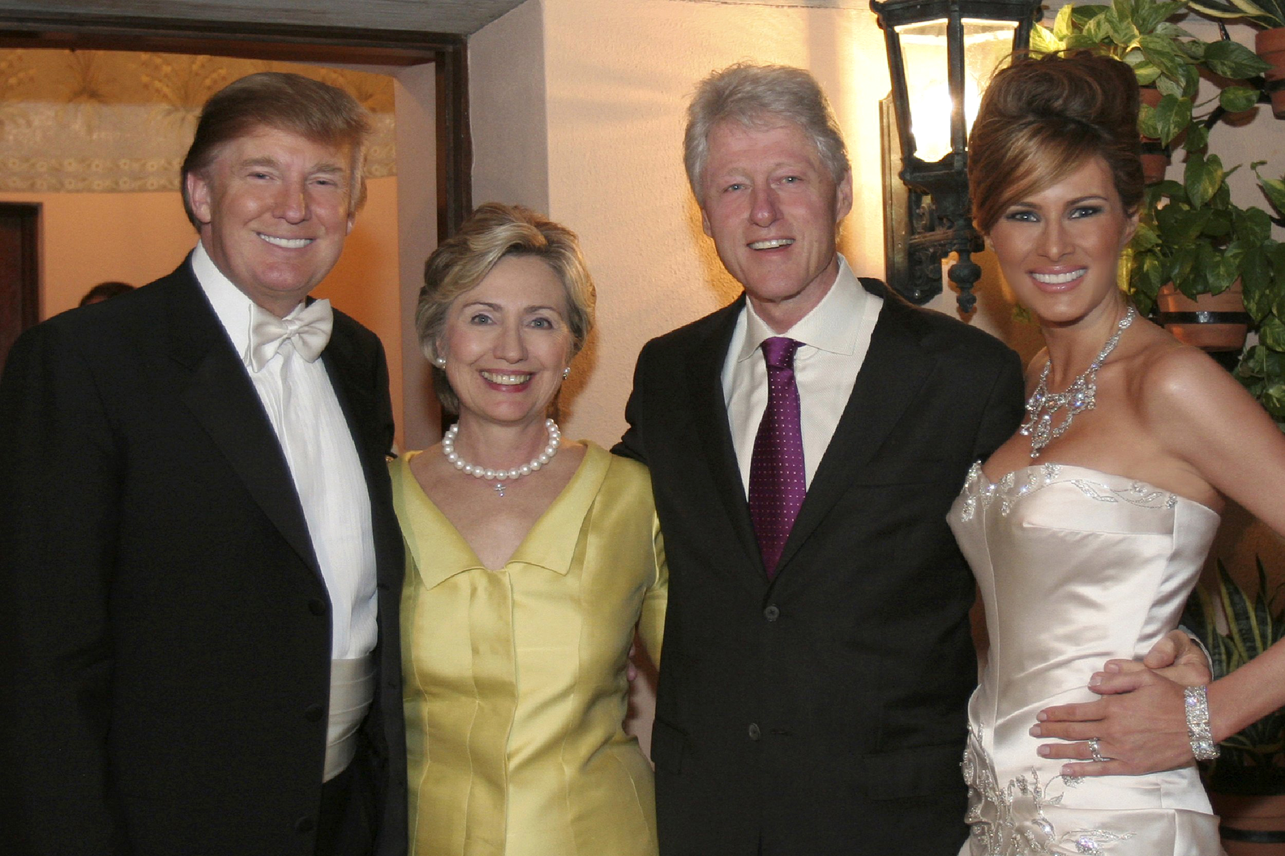 "trump rodham clinton knavs 2005 Mar-a-Lago Club #wedding #murica #uniparty #capitalism #micc #idiots ""Establishment"" #drain the swamp ! ."