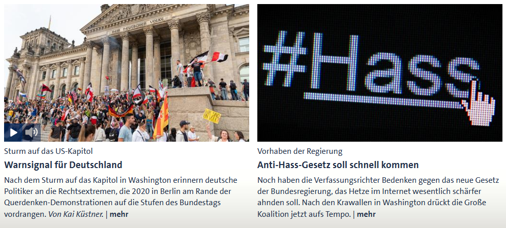 trumpetisierung hate hass capitol bundestag #domestic terrorism
