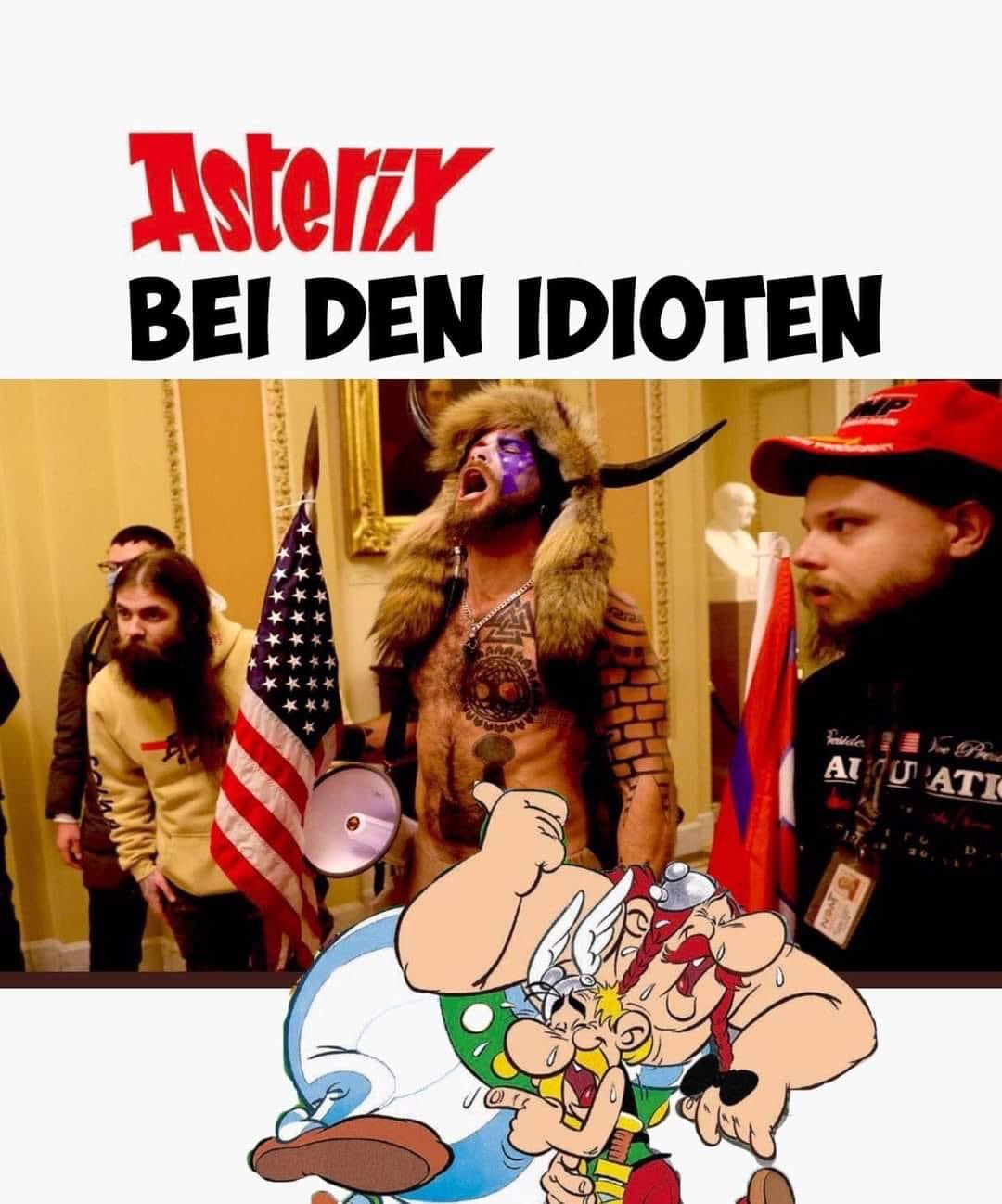 deplorables Asterix Idioten Kakadu < DEPLORABLE #domestic terrorism