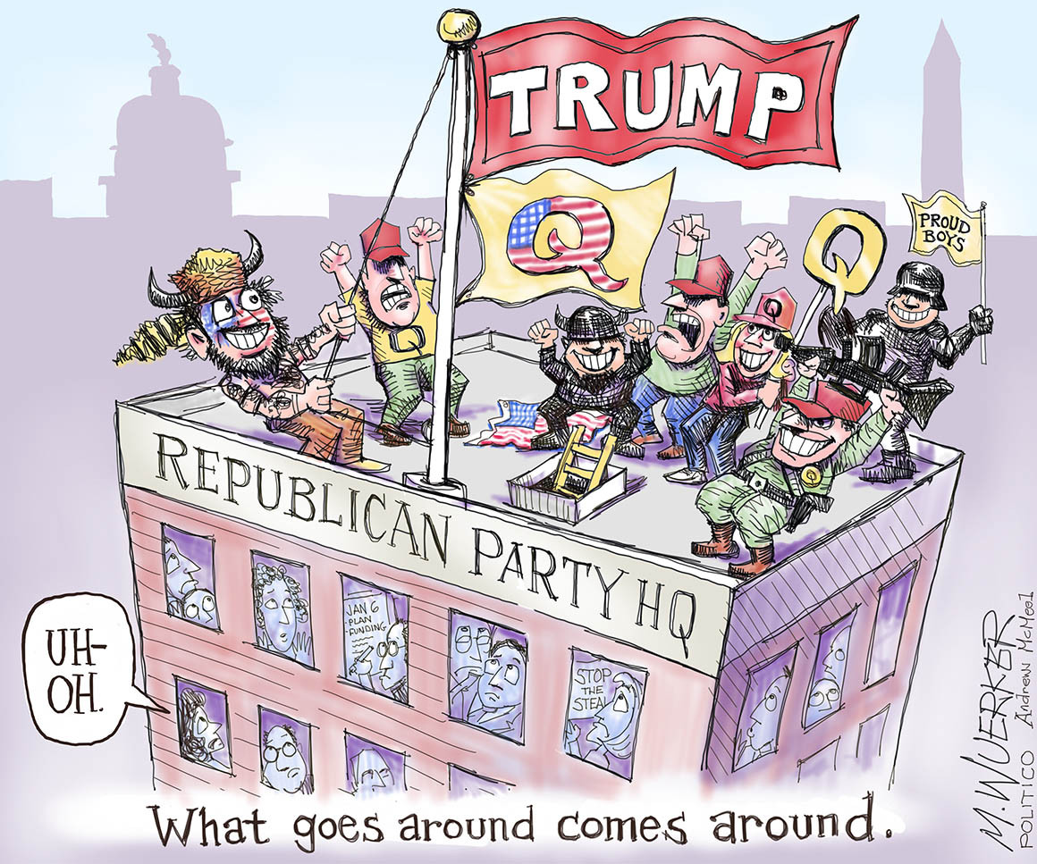 wuerker cartoon GOP deplorables